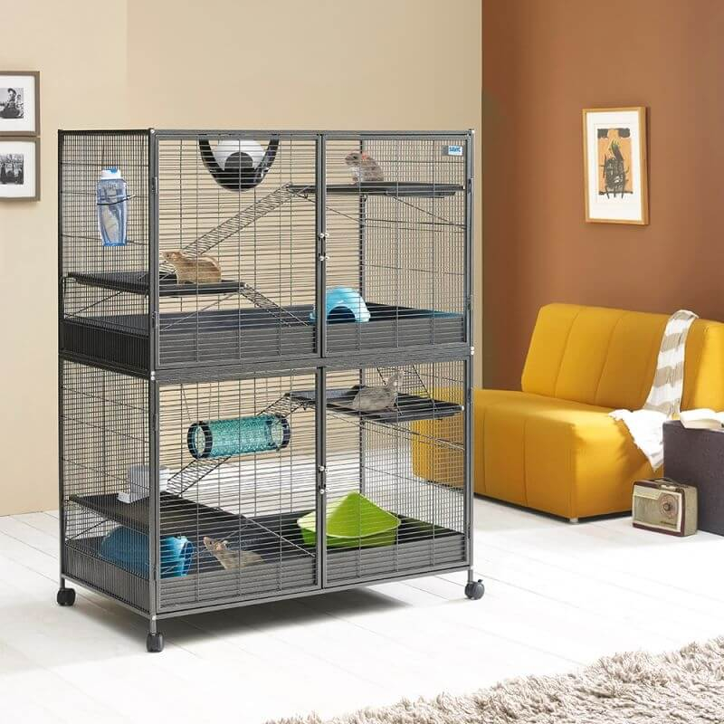 Cage Savic Suite Royal XL 115 pour Chinchilla et Furet_0