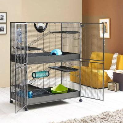 Cage pour Chinchilla et Furet - H155cm - Savic Suite Royal XL