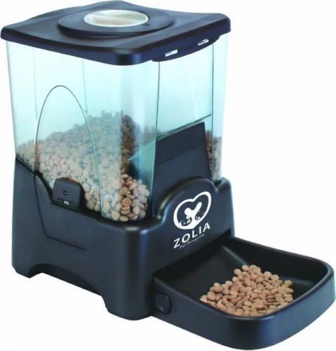 distributeur automatique de croquettes zolia chien chat zd 90. Black Bedroom Furniture Sets. Home Design Ideas