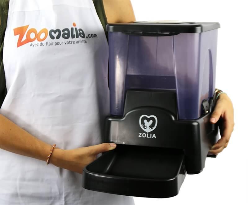 Distributeur automatique de croquettes ZOLIA chien/chat ZD-90_6