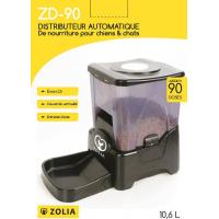 Distributeur automatique de croquettes ZOLIA chien/chat ZD-90 (3)