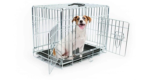 cage de transport pour chien zolia koda avec fond plastique noir. Black Bedroom Furniture Sets. Home Design Ideas