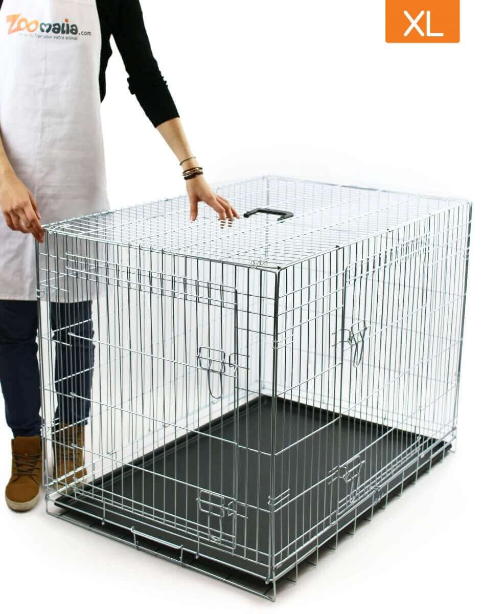 cage de transport pour chien zolia koda avec fond. Black Bedroom Furniture Sets. Home Design Ideas