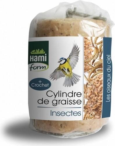 Cylindre de graisse Insectes pour oiseaux du ciel