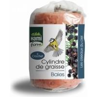 Cylindre de graisse aux baies avec crochet (1)
