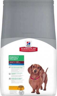 Hill's Science Plan Canine Adult MINI Perfect Weight Poulet