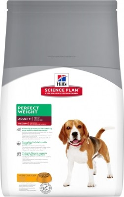 Hill's Science Plan Canine Adult MEDIUM Perfect Weight Poulet