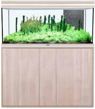 Aquarium AQUA FUSION LED Noyer clair