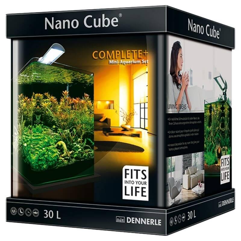 Aquarium nanocube complete plus 30 l aquarium et meuble for Achat aquarium complet