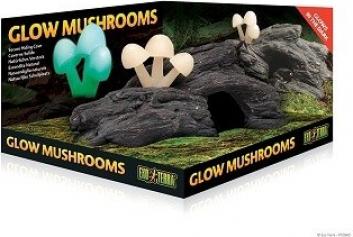Décor Champignons lumineux (glow mushrooms) Exo Terra