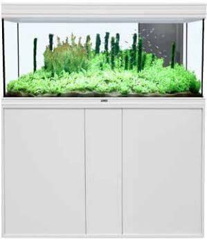 Meuble aquarium fusion blanc aquarium et meuble for Meuble aquarium blanc