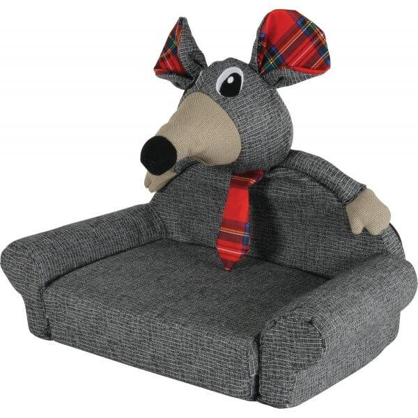 Sof cama arthur color gris camas y cestas for Sofa cama color gris