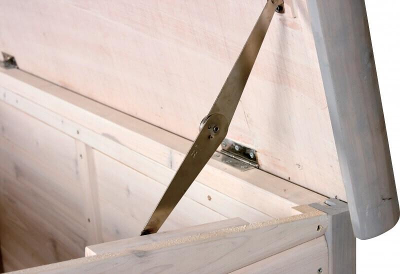 Caseta de madera con techo plano terraza casetas for Caseta madera terraza