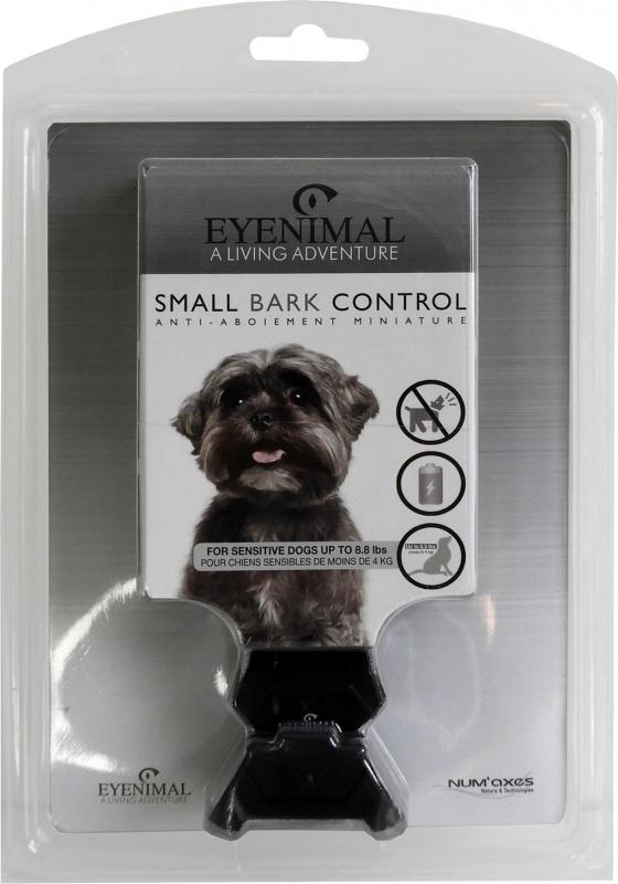 Collier anti-aboiement Small Bark Control pour petit chien Eyenimal - Stimulations électrostatiques