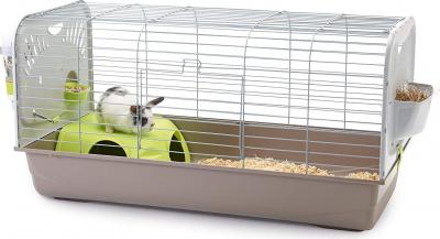 Cage Caesar 3 pour Lapin et Cochon d'Inde 100cm