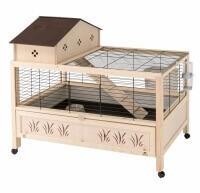 Cage lapin et cochon d'inde ARENA 100 PLUS