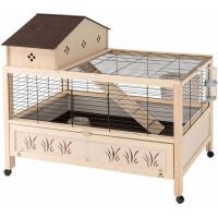 Cage en bois Arena 100 Plus pour Lapin et Cochon d'Inde