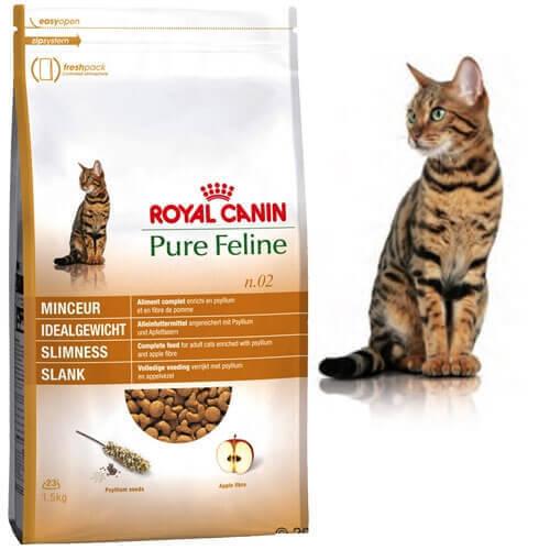 royal canin pure feline f r das idealgewicht trockenfutter f r katzen. Black Bedroom Furniture Sets. Home Design Ideas