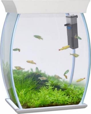 Aquarium AQUASPHERE blanc 25 l
