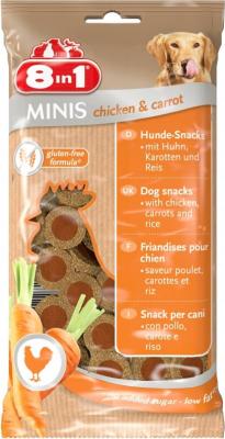8in1 Minis mit Hühnchen und Karotten