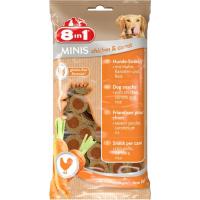 Friandises pour chien 8en1 Minis Poulet et Carottes