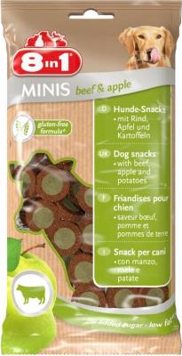 8in1 Minis mit Rindfleisch, Äpfeln und Kartoffeln