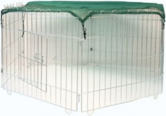 Filet de protection hexagonal