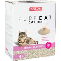 Litière agglomérante chat PURECAT parfumée