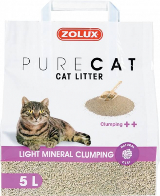 PureCat Light Mineral Clumping Litter