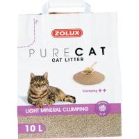 Litière chat agglomérante PURECAT légère