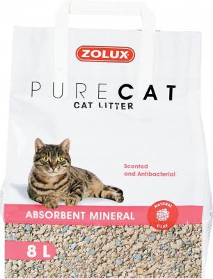 Saugfähige Katzenstreu PURECAT, parfümiert, 8l