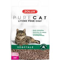 Litière végétale chat PURECAT