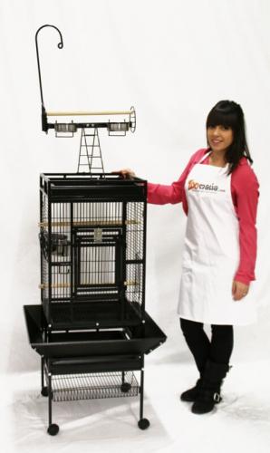 Vogelkäfig CALOPSITTE für kleine Papageien und große Sittiche