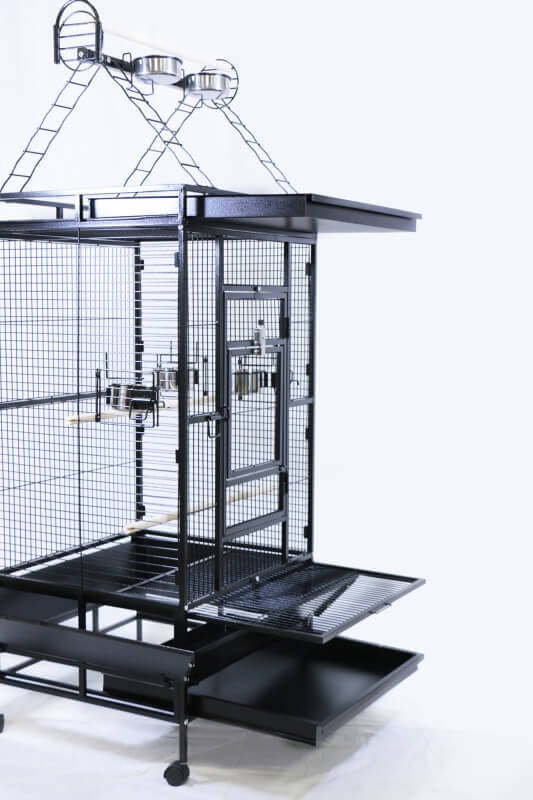 YOUYOU Cage for Medium Sized Parrots and Large Parakeets_3