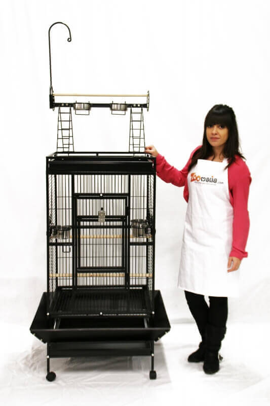 YOUYOU Cage for Medium Sized Parrots and Large Parakeets_7