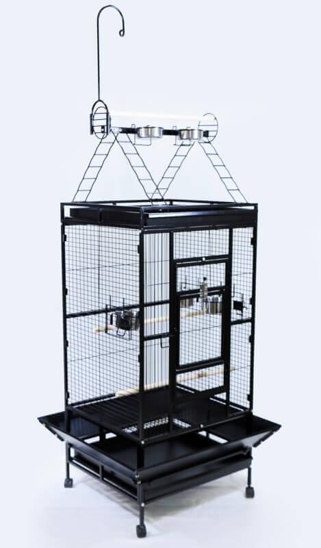 cage zolia youyou pour perroquet moyen et grande perruche cage perroquet. Black Bedroom Furniture Sets. Home Design Ideas