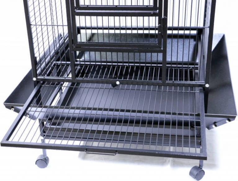 YOUYOU Cage for Medium Sized Parrots and Large Parakeets
