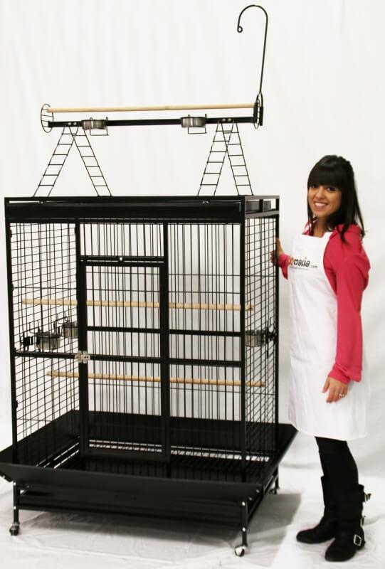 Cage ZOLIA ARA pour grand perroquet _7