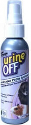 Destructeur d'odeurs NAC et petits animaux urine off et détachant tissus pour chiot et chien urine off
