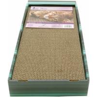 Griffoir Banc/Jeux avec herbe à chat  48 x 20 x 26 cm  (2)