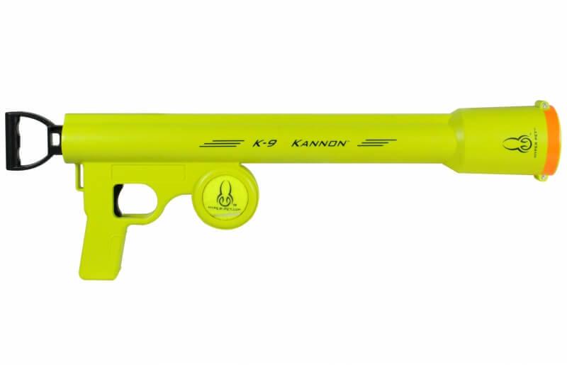 Pistolet lance balles k 9 kannon jouet pour chien - Lance balle automatique chien ...