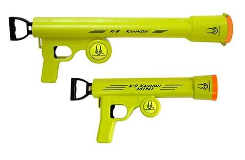 pistolet lance balles k 9 kannon jouet pour chien. Black Bedroom Furniture Sets. Home Design Ideas