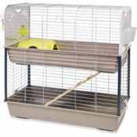 Cage Caesar 3 double 100 cm pour lapins et cochons d'inde