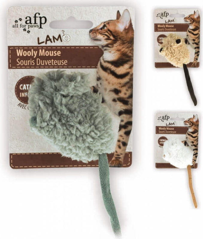 Wooly Mouse Toy