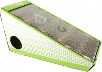 Griffoir en carton pour Chat avec herbe à chat