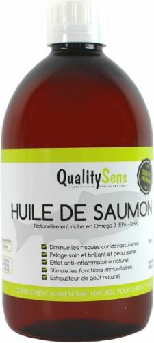 Aceite de salmón premium QUALITY SENS