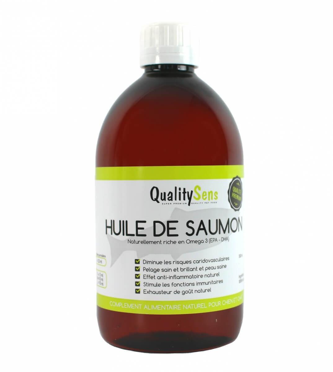 Huile de saumon premium QUALITY SENS_0