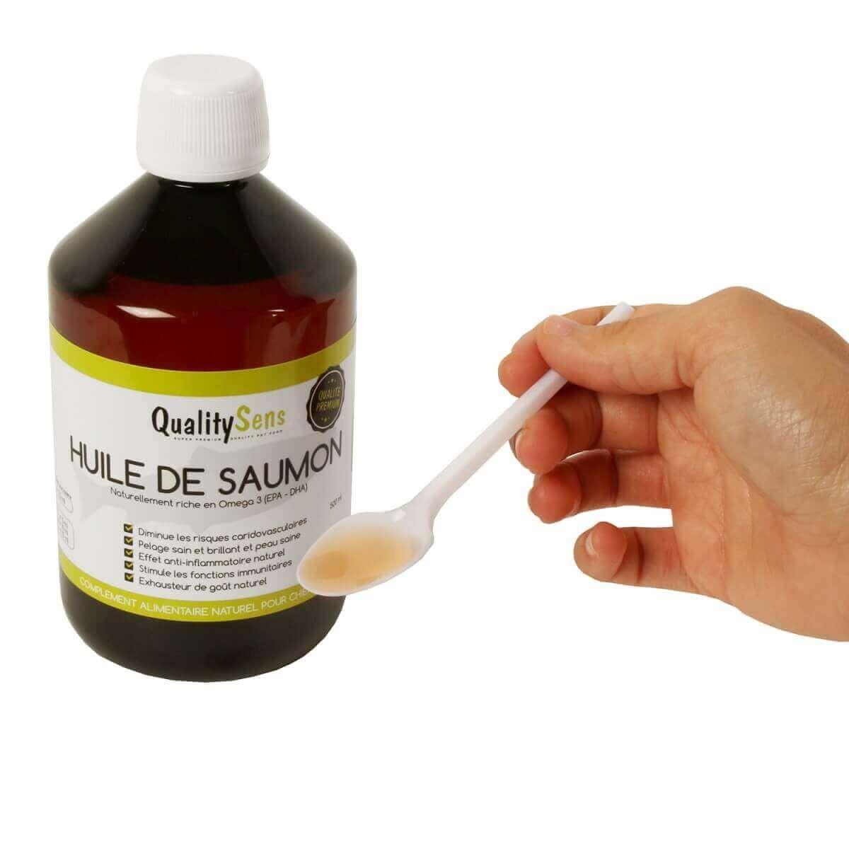 Aceite de salmón premium QUALITY SENS        _5