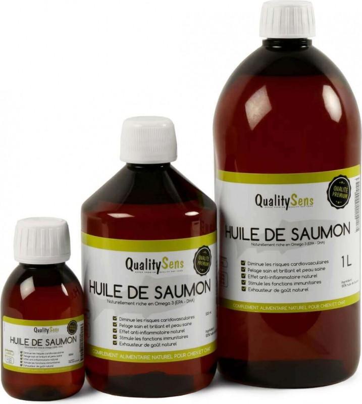 Huile de saumon premium QUALITY SENS