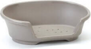 Cesta de plástico gris de 50 a 104 cm